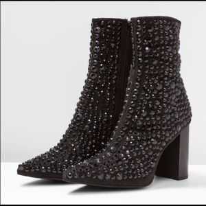 Jeffrey Campbell Sequin Booties